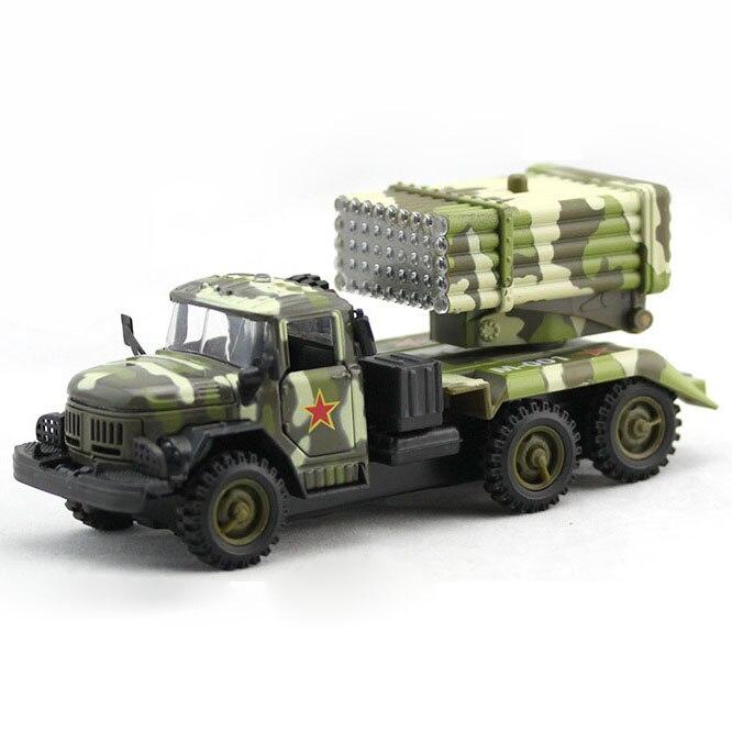 Juguete del Vehículo de Misil del Ejército de Aleación para Colección,