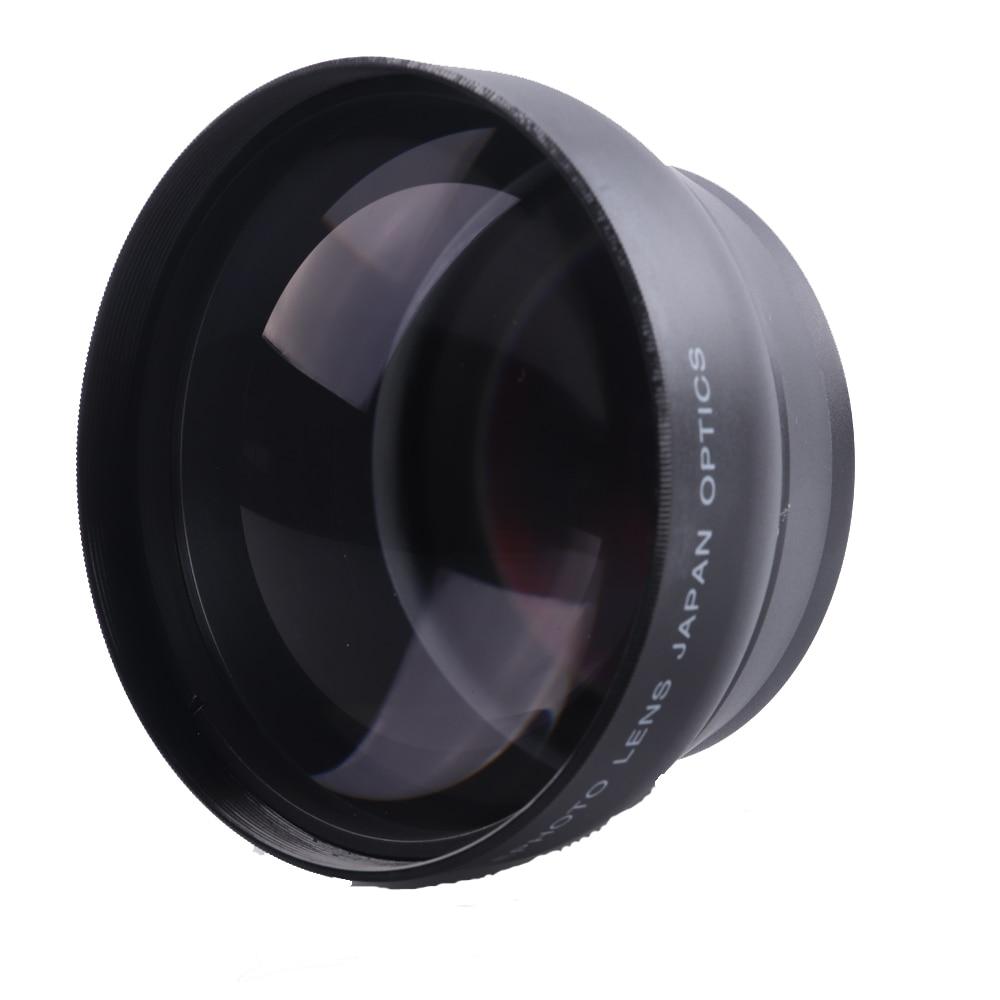 58mm 2.2X Supplémentaires Téléobjectif objectif pour canon 77D/350D/400D/450D/500D/1000D/550D/ 600D/1100D 18-55 MM Lentille