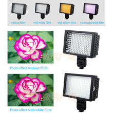 HONGDAK HD-126 LED Video Light lamp for canon nikon Pentax DSLR Camera DV Camcorder Professioanl led camera light free shipping
