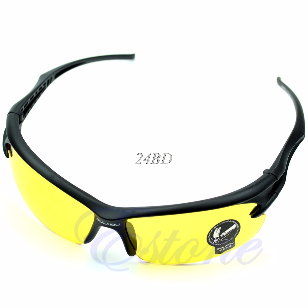 UV Protective Goggles Sunglasses Sports Motocycle Cycling Riding Running 5 Colors S23