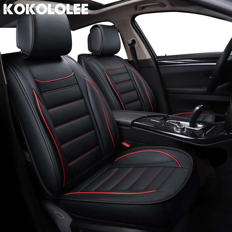 kokololee pu si ge de voiture en cuir couvre pour great wall hover h5 skoda octavia a5 passat b3. Black Bedroom Furniture Sets. Home Design Ideas