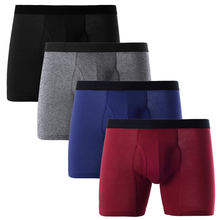 European Big Boxers Men Underwear EUR Open Fly Shorts boxers