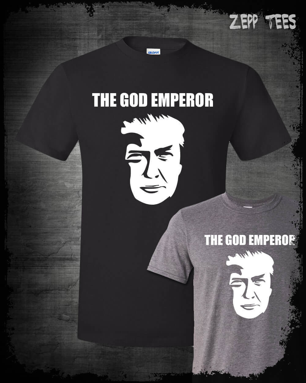 2019 Fashion Summer Style God Emperor Trump Meme Shirt Funny MAGA President Top Kek Liberal Tears USA Tee Shirt image