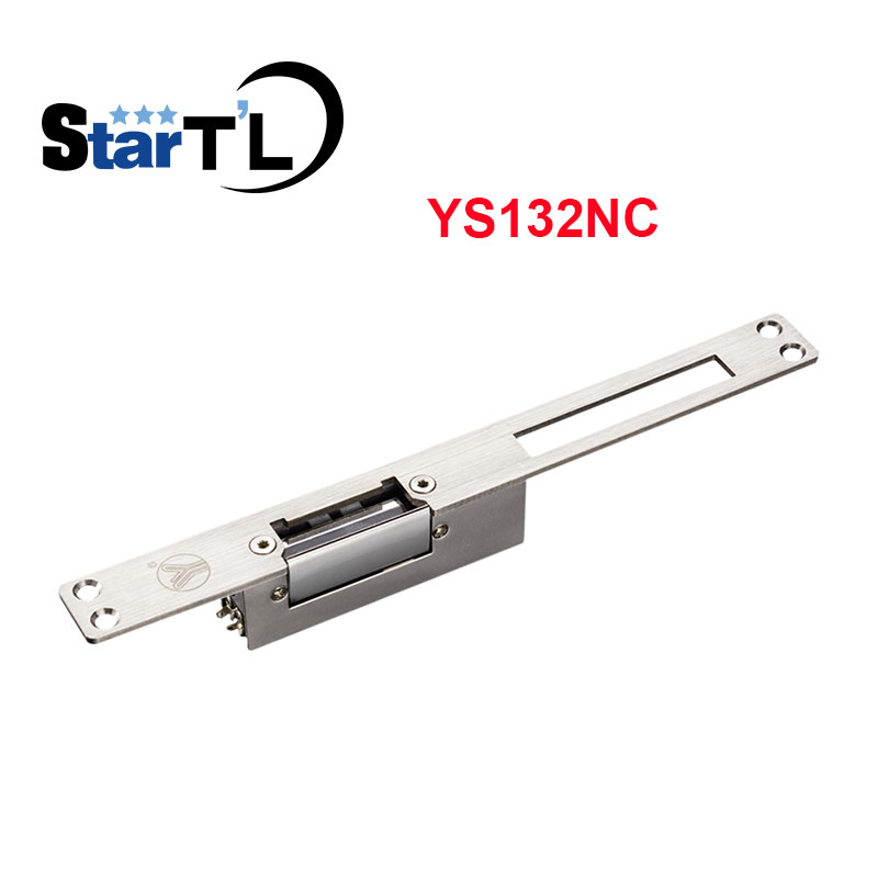 Yli Long-type Electric Strike Lock Fail Safe Electric Door Lock Holding 500kg.Access Control Lock YS132NC