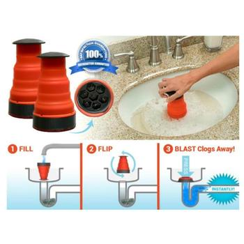 high pressure drain blaster cannon manual clog remover cleaner pump for toilets