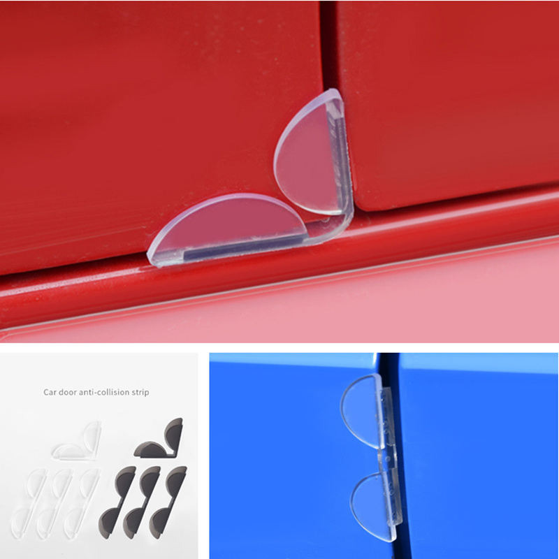 <font><b>2019</b></font> NEW 4Pcs Car Door Edge Corner Guard Anti-scrash Bar Stickers for <font><b>Suzuki</b></font> <font><b>SX4</b></font> SWIFT Alto Liane Grand Vitara Jimny S-Cross image