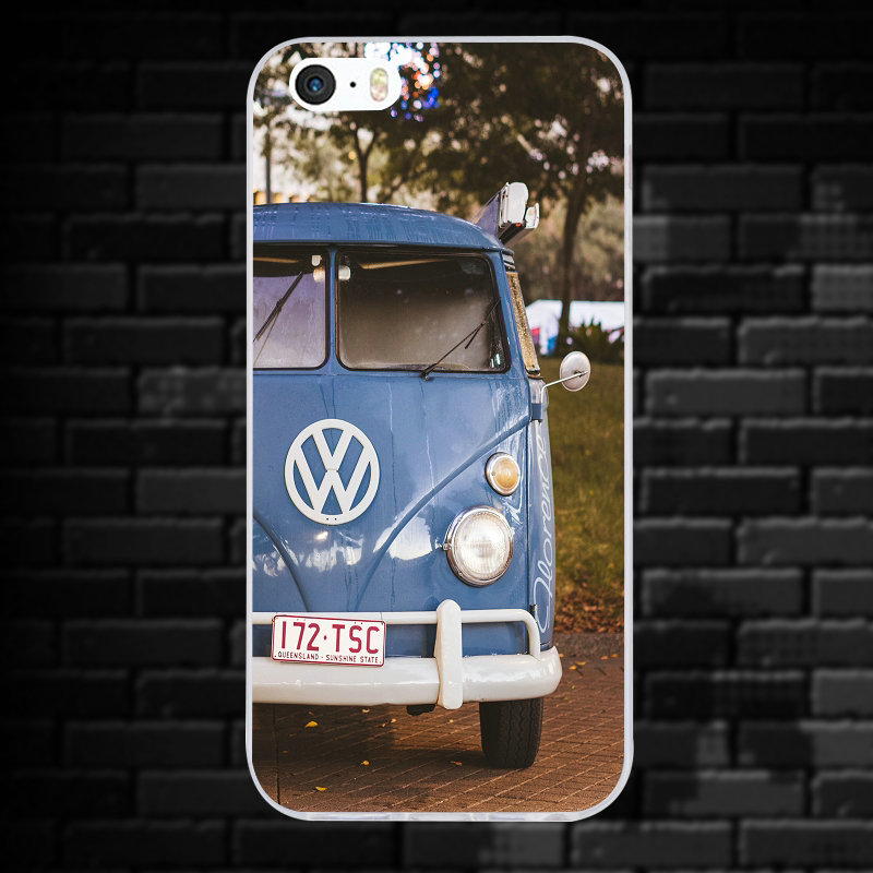 Vw Golf Silhouette Volkswagens Soft Tpu Mobile Phone Accessories