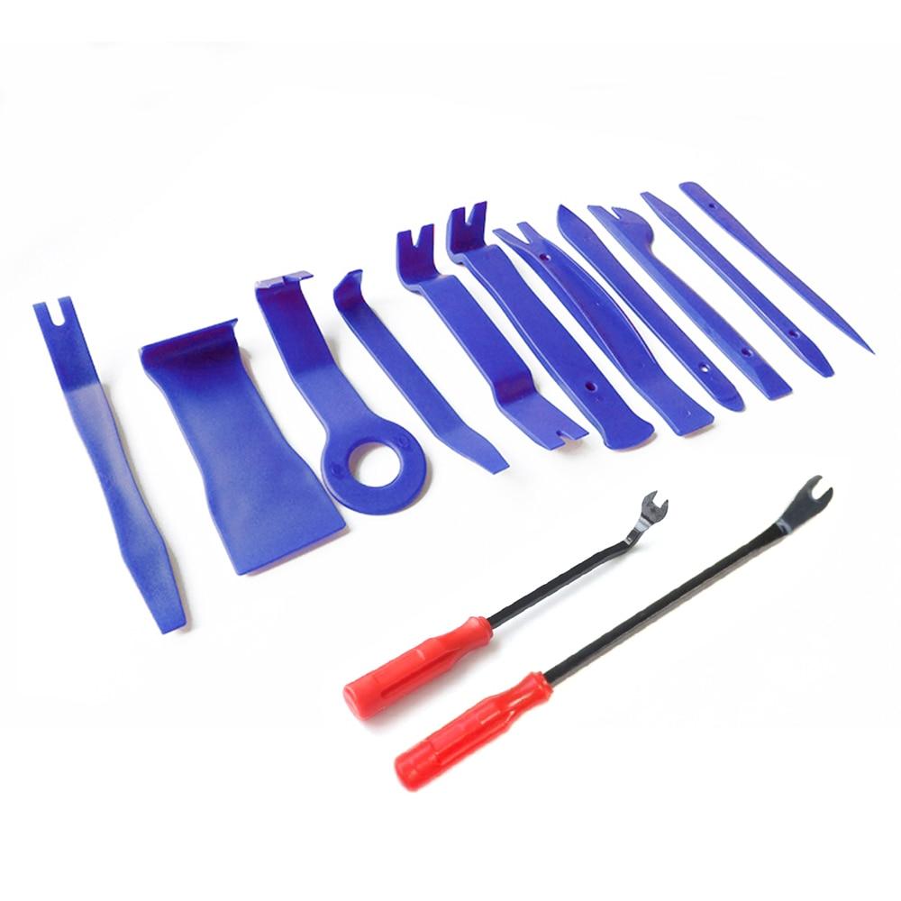 13 шт./компл. автомобильный DVD аудио инструменты для демонтажа, инструменты для разборки интерьер комплект автоматической обрезки удаление инструмент для ремонта автомобиля, Комбинации костюм