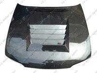 Car Accessories Carbon Fiber DM Style Hood Bonnet Fit For 1995 1996 R33 GTS Spec 1 Hood Cover