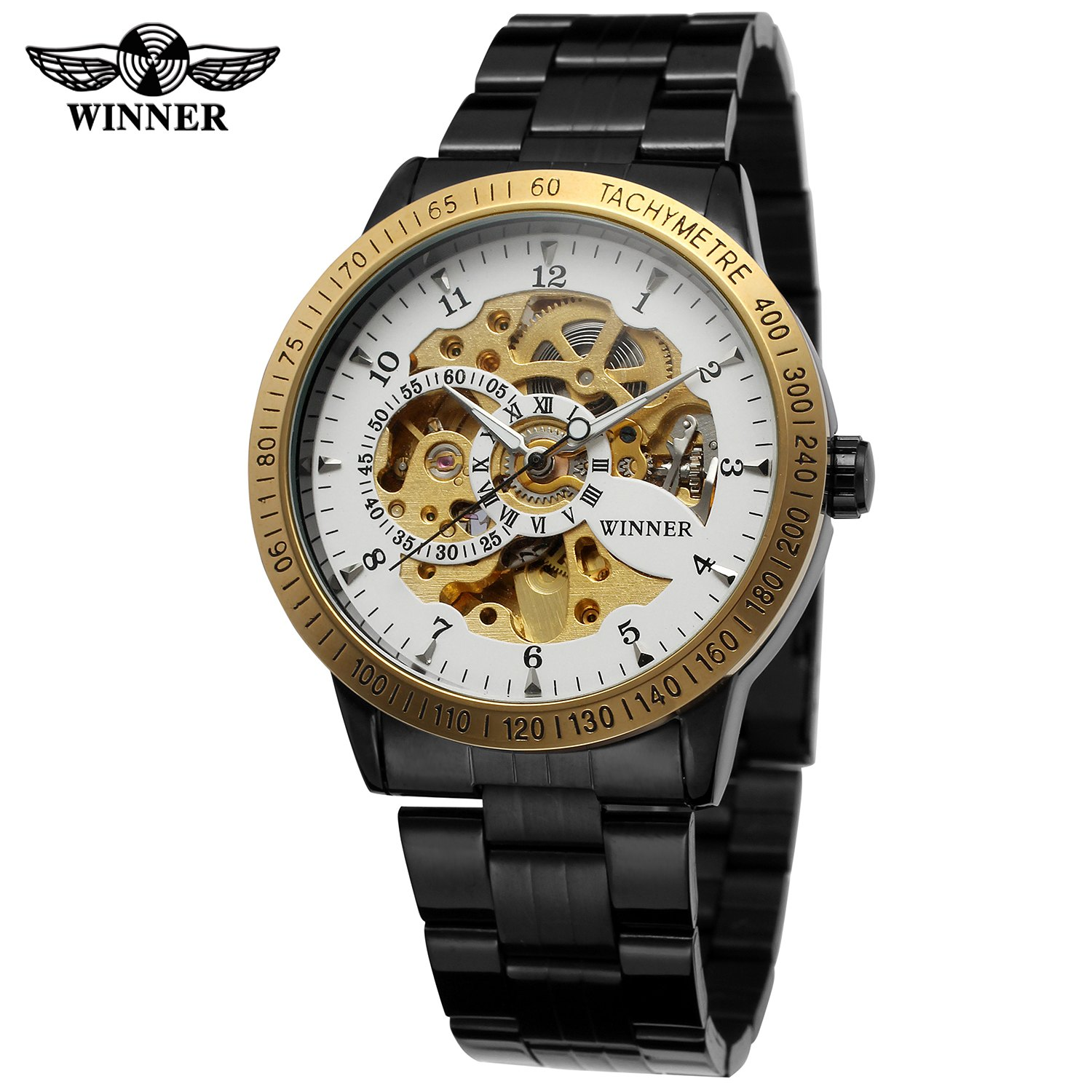 gold quartz vk chronograph battery blue aehibo product leather watches watch new s brand store men wristwatches small dial super