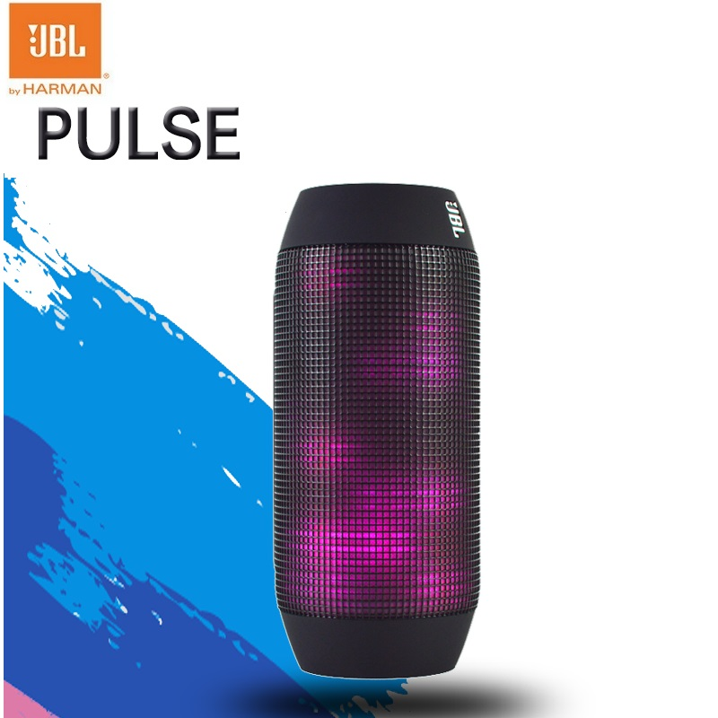 New Original JBL Pulse Fashion Designed Mini Portable Cool LED Bluetooth speaker with FreeShipping pk flip charge 2 CHR2+ jbl xtreme portable bluetooth speaker blue
