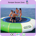 Free Shipping (Come With 1 Blower) Diameter 4m Inflatable Water Trampoline/Water Jumping Bed/Jumping Trampoline