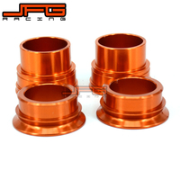 CNC Front and Rear Wheel Hub Spacer For KTM SX125 SX250 SX300 SX350 SX400 SX450 SXF125 SXF250 SXF300 SXF400 SXF450 2013 2014