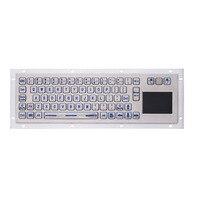 С подсветкой IP65 Нержавеющаясталь USB киоск клавиатура с сенсорной панели металла промышленные клавиатуры для билетный автомат мини клавиа