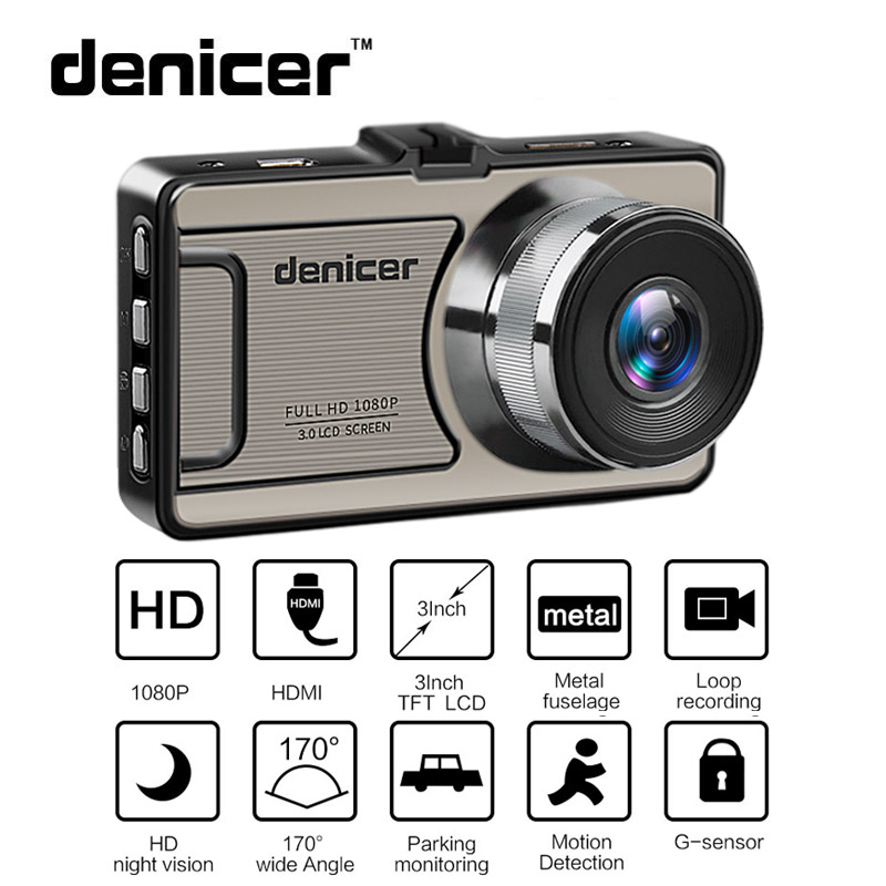 Car DVR Camera Novatek 96655 Full HD 1080P Dash Camera 30Fps Video Registrator Car 170 Degree Dash Cam Night Vision Recorder Car цена