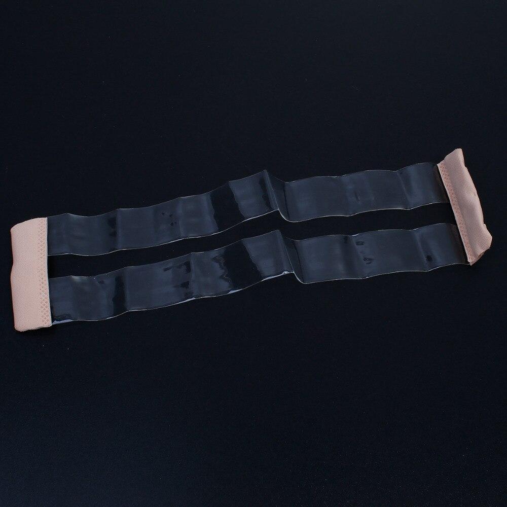 Silicone Women Bra Non-Slip Buckle Extender For Bra Strap Invisible Transparent Elastic Bra Fasteners 23cm x 5.5cm, 1 Piece