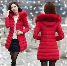 Women Winter Jackets And Coats 2016 Parkas Mujer Female Thick Hooded Long Down Cotton Coats Plus Size 6XL  Manteau Femme