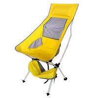 נייד אור משקל מתקפל קמפינג שרפרף כיסא מושב לדיג פסטיבל פיקניק מנגל חוף עם תיק כתום כחול אדום שמיים  כחול-בכיסאות חוף מתוך ריהוט באתר