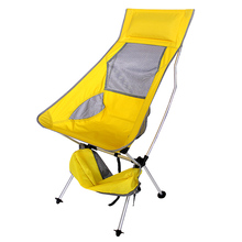 Portable Light weight Folding Camping Stool Chair Seat For Fishing Festival Picnic BBQ Beach With Bag Orange Blue Red Sky blue