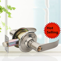 Simple Washroom Door Lock Stailess Steel Interior Door Handle Lock Anti theft Lock Bathroom Toilet Lock Furniture Hardware