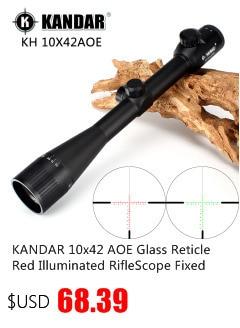 Kandar gold edition 4-16x40 aome vidro gravado