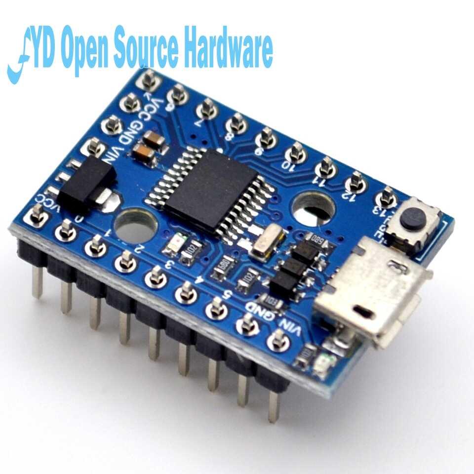 5 pcs/lot carte de développement Digispark Pro kickstarter utiliser Micro ATTINY167 module pour usb