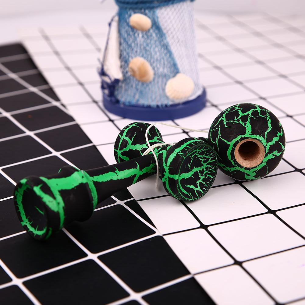 Полный Хрустальный деревянный шар Kendama образование Традиционная японская игра игрушка шар Kendama Наружная игрушка мяч наружные игрушки аксессуары