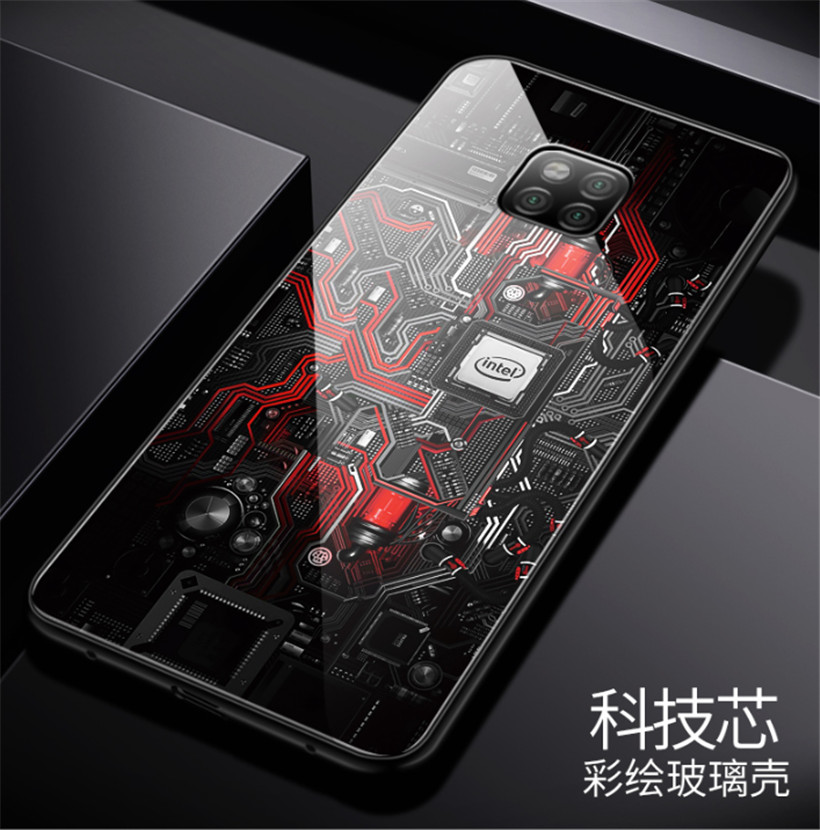 huawei mate 20 case glass  (17)