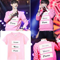 KPOP EXO EXO-M EXO-K Call Me Baby Альбом Рубашки K-POP Повседневная Одежда Хлопок Футболка Майка С Коротким Рукавом Футболки