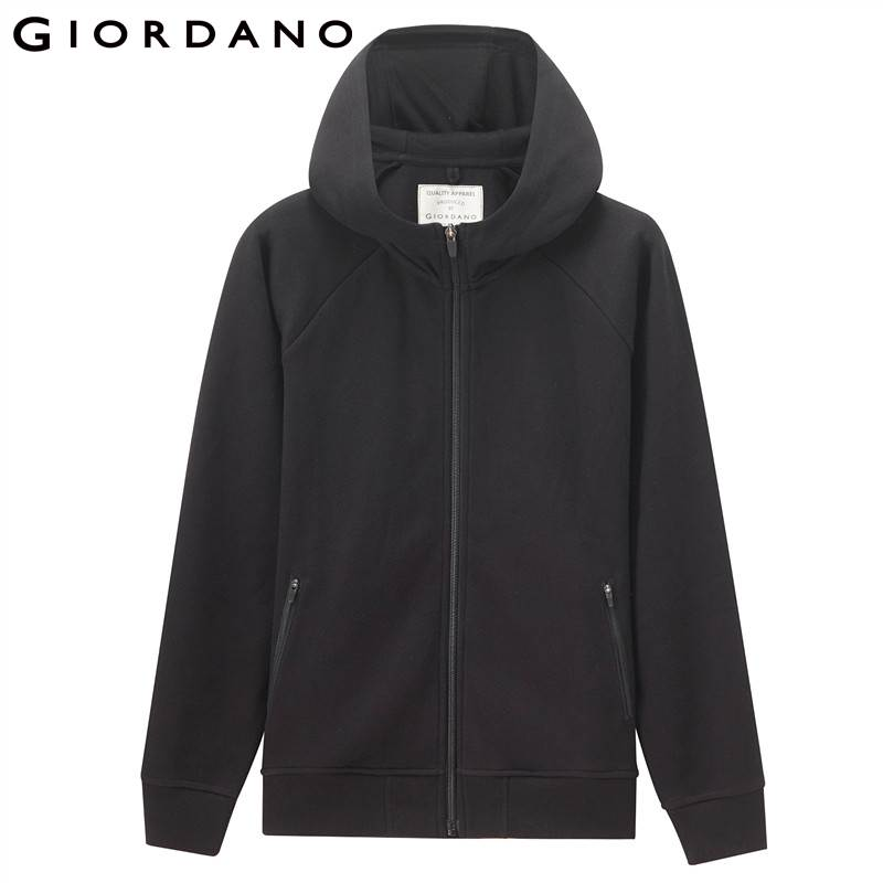 Giordano Women Jacket Women Quality Pique Fabric Hood Jacket Zip Placket Pocket Ribbed Cuffs And Hem Chaqueta Mujer-in Jackets from Women's Clothing    2