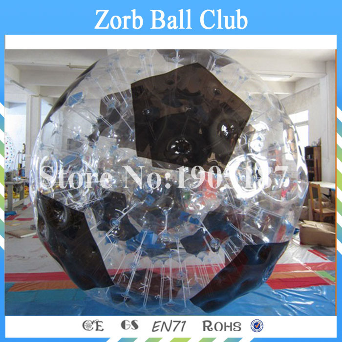 Free Shipping 1.0mm TPU Inflatable Body Zorb Ball, 3m Diameter Good Price Inflatable Human Bowling For Rental Business inflatable zorb ball race track pvc go kart racing track for sporting party