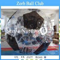 Miễn phí Vận Chuyển 1.0 mét TPU Cơ Thể Inflatable Bóng Zorb, 3 m Đường Kính Giá Tốt Con Người Inflatable Bowling Để Kinh Doanh Cho Thuê
