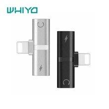 Whiyo Headphones Adapter Splitter Compatible for iPhone 7 X10 8 Plus Earphone Ca
