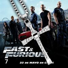 Fast And Furious Necklace Actor Dominic Toretto / Cross Pendant
