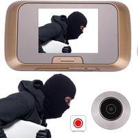 Giantree HD 2.8 LCD Pouces Smart Visuel Électronique sonnette Caméra Porte Cloche Judas Caméra Accueil Système de Sécurité Secuirity