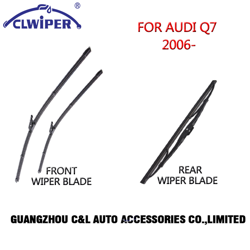 Front and rear Wiper Blades For AUDI Q7(2006 )2007 2008