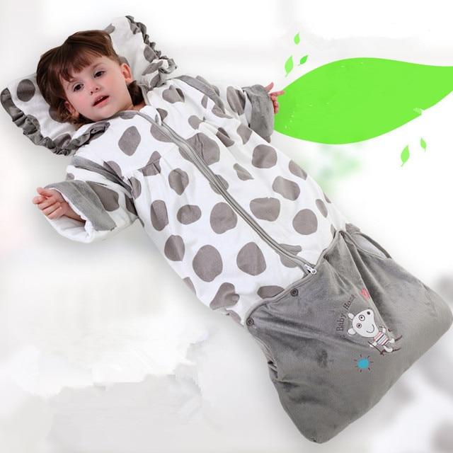 Aparte Babykleding.Atbabyhome Gratis Verzending Pasgeboren Kinderen Zijn Slaapzak
