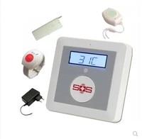 gsm alarm for elderly SOS wireless emergency dialer gsm sms home alarm system
