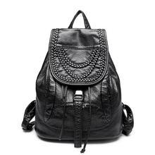 110316 г. женские Geninue кожа Cansual рюкзак дважды сумка