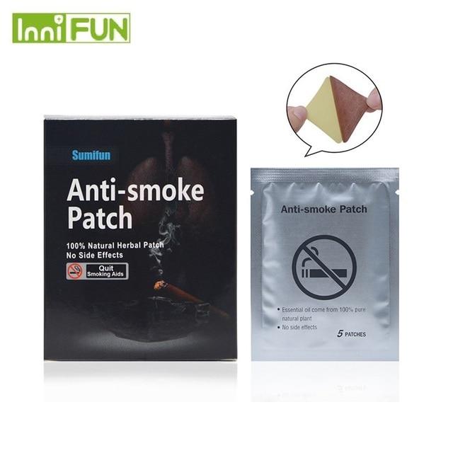 35pcs/Bag InniFun 100% Natural Ingredient Nicotine Patches Stop Smoking Patch for Smoking Cessation Patch