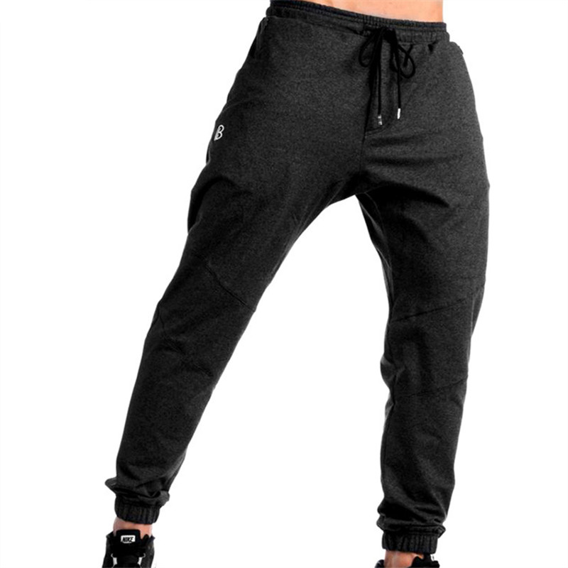 kibys New Summer Fitness Pants Men Elastic Breathable Sweat Pants Drawstring Outwear Clothing Male Pants Trousers