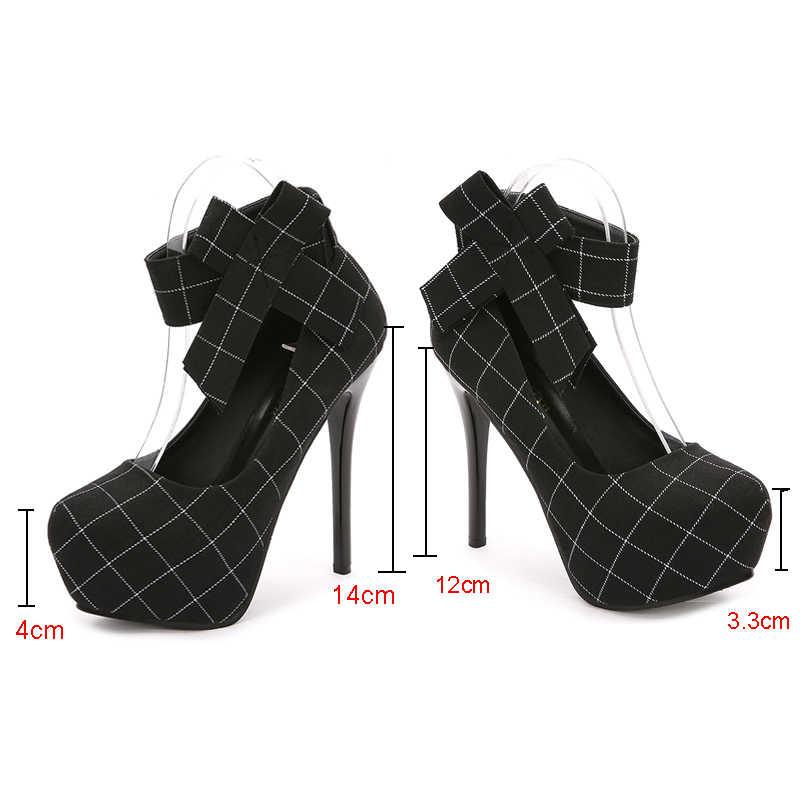 """2019 Nền Tảng Gót Giày Công Sở Nữ Bơm Nữ Giày Nữ Giày Cao Gót Cưới Nữ Talon Femme Zapatos Mujer """"Tacon"""