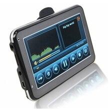 5 Inch HD Car GPS Navigation 800MHZ FM/4GB/DDR3 Free Maps Fo