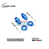TRX4 82056 4 Aluminum Alloy 17mm Hex Adapter 12MM F/R Cup General Gear Shaft For RC Car Crawler Traxxas TRX 4 TRX410/17X19