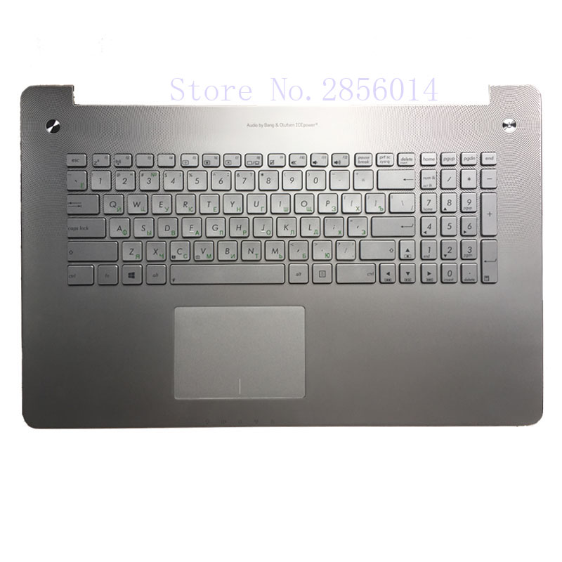 NEW Russian Keyboard for Asus N750 N750JV N750JK RU Laptop Keyboard цена