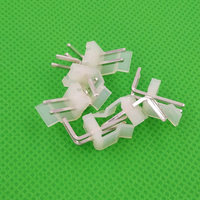 1000pcs male right angle 3.96mm material CH3.96 2pin 2pins Connectors Leads pin Header CH3.96 AW CH3.96 2AW