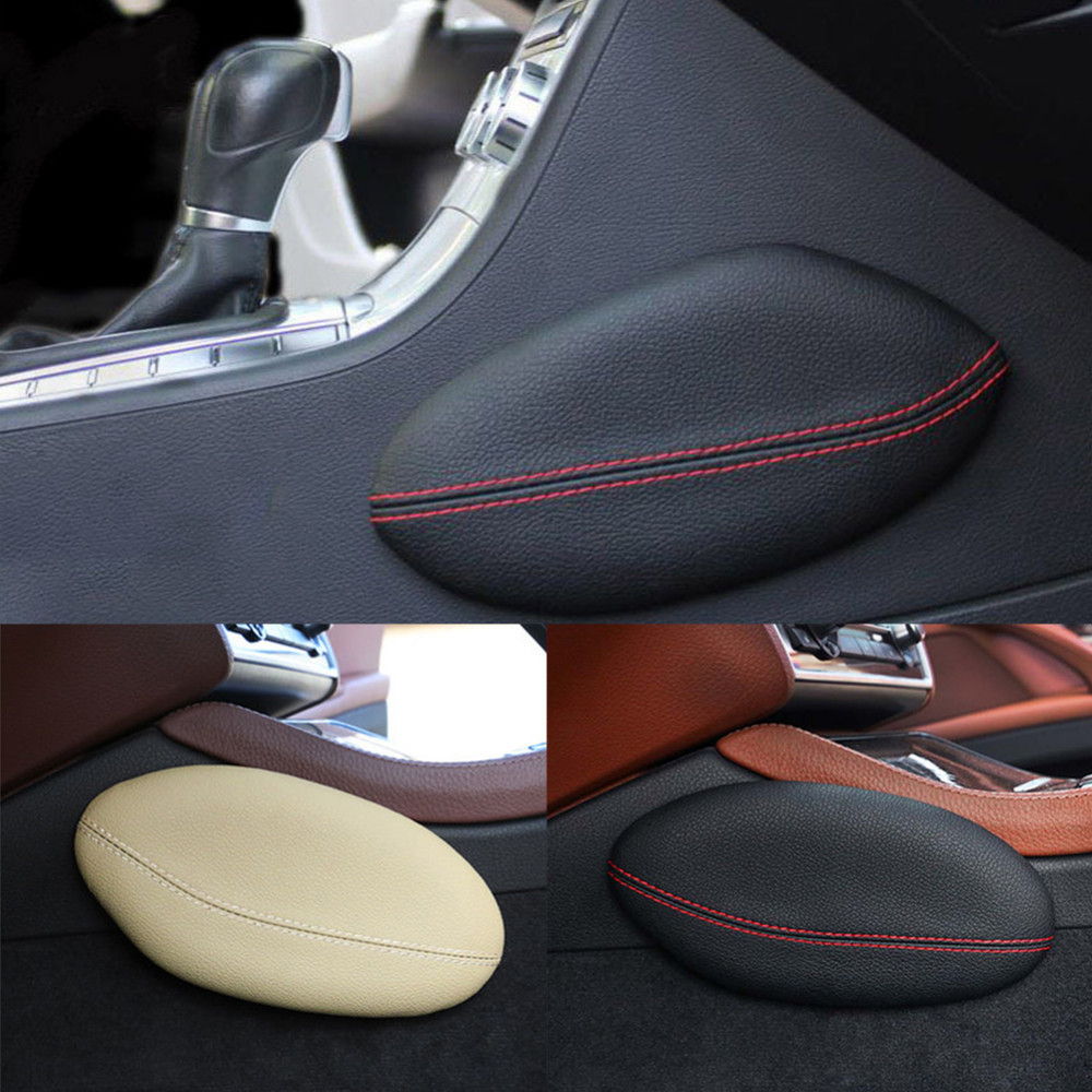 Airspeed Leather Leg Cushion Knee Pad Thigh Support Pillow Interior Car Accessories for BMW E46 E39 E60 E90 E36 F30 F10 X5 Z4 7 airspeed leather car leg cushion knee pad thigh support pillow for mercedes benz w203 w204 w205 w211 w210 w212 amg accessories