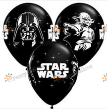 50pcs/lot Star Wars The Force Awakens Latex Balloons Birthday Party Supplies Toys for kids Globos inflatable balloon(China)