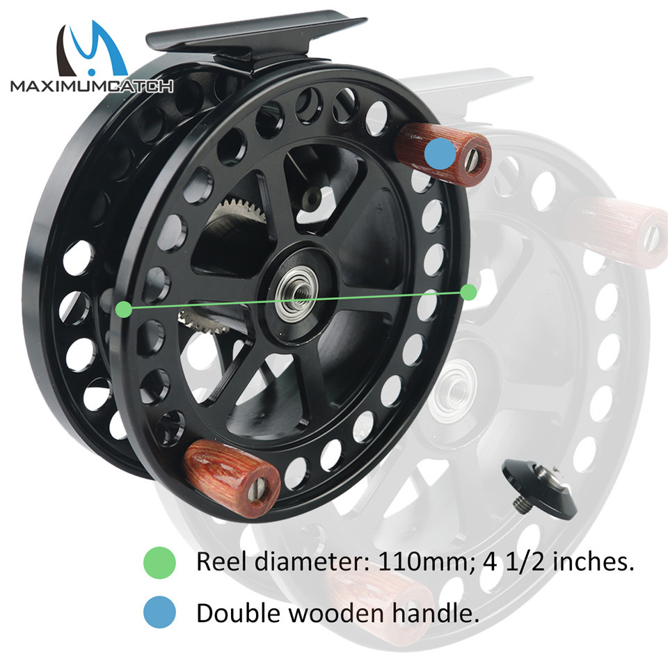 Pin 6061-T6 Reel MAXIMUMCATCH 2