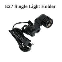 2 Pieces Dison Photography Photo Light Lamp Bulb Single Holder E27 Socket Flash Bracket Studio Newly
